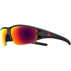 adidas Evil Eye Halfrim Brille black matt/red